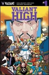 Valiant High #1 Cover A - LaFuente