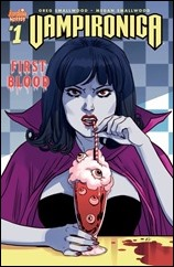 Vampironica #1 Cover - Sauvage Variant