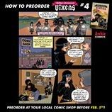 Betty & Veronica: Vixens #4 Mini comic