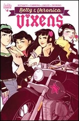 Betty & Veronica: Vixens #4 Cover - St. Onge Variant