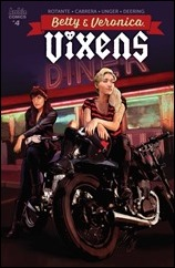 Betty & Veronica: Vixens #4 Cover - Staggs Variant