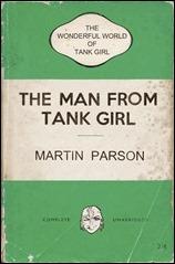 The Wonderful World of Tank Girl #3 Cover C - Bookshelf Variant
