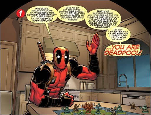 YOU ARE DEADPOOL 001 thumb