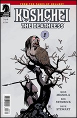 Koshchei The Deathless #3 Cover