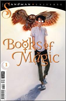 Books of Magic Promo Art by Kai Carpenter