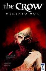 The Crow: Memento Mori #1 Cover