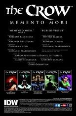 The Crow: Memento Mori #1 Preview 1