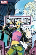Dazzler: X Song #1 Cover