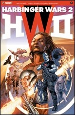 Harbinger Wars 2 #1 Cover A - Jones
