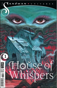 House of Whispers promo art by Sean Andrew Murray
