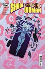 Shade, The Changing Woman #1 Cover - Cloonan