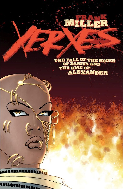 Xerxes: The Fall of the House of Darius And The Rise of Alexander #1 Cover