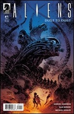 Aliens: Dust to Dust #1 Cover