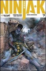 Ninja-K #7 Cover - Pastorus Variant
