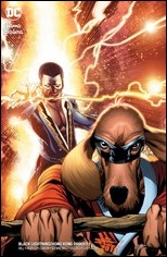 Black Lightning / Hong Kong Phooey Special #1 Cover - ChrisCross Variant