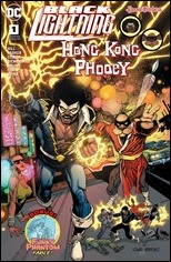 Black Lightning / Hong Kong Phooey Special #1 Cover