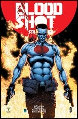 Bloodshot Salvation #9 Cover - Davis Icon Variant