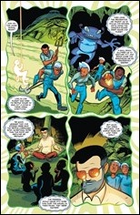 Cave Carson Has An Interstellar Eye #3 Preview 2