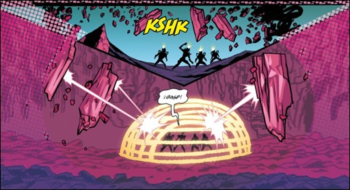Cave Carson Has An Interstellar Eye #3