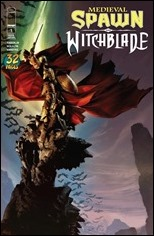 Medieval Spawn/ Witchblade #1 Cover
