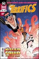 The Terrifics #4 Cover