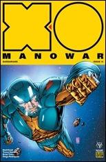 X-O Manowar #15 Cover - Davis Preorder
