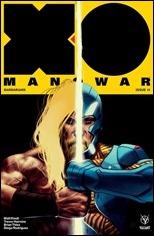 X-O Manowar #15 Cover - Kalvachev