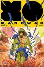 X-O Manowar #15 Cover - Fish