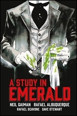 Neil Gaiman's A Study In Emerald HC Cover