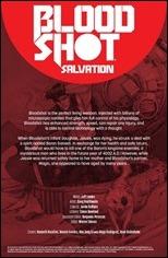 Bloodshot Salvation #10 Credits