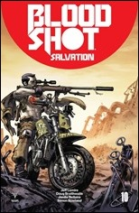 Bloodshot Salvation #10 Cover - Jung Gi ICON Variant
