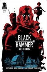 Black Hammer: Age of Doom #3 Cover - Variant