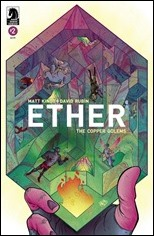 Ether: Copper Golems #2 Cover