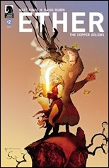 Ether: Copper Golems #2 Cover - Sienkiewicz variant