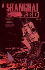 Shanghai Red #1 Cover