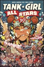 Tank Girl All Stars #1 Cover A - Parson