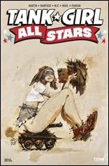 Tank Girl All Stars #1 Cover B - Wood