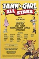 Tank Girl All Stars #1 Credits