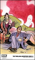 The Thrilling Adventure Hour #1 Cover - Case