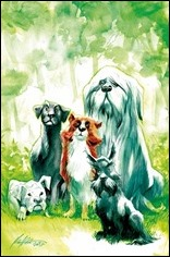 Beasts of Burden: Wise Dogs And Eldritch Men #1 Cover - Albuquerque Variant