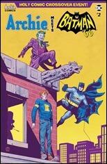 Archie Meets Batman '66 #2 Cover - Walsh