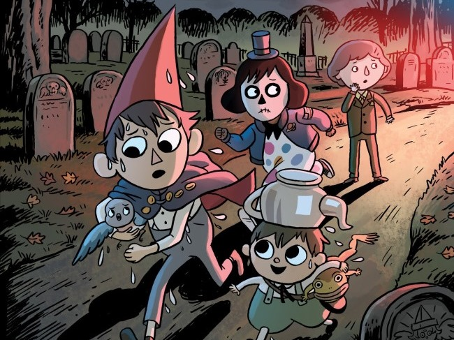 First Look Over The Garden Wall Distillatoria Ogn By Case Campbell