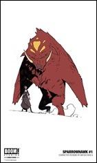 Sparrowhawk #1 Character Art 2