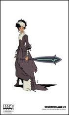 Sparrowhawk #1 Character Art 1