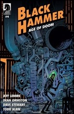 Black Hammer: Age of Doom #4 Cover - Harren Variant