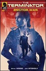 Terminator: Sector War #1 Cover - Domaradzki Variant