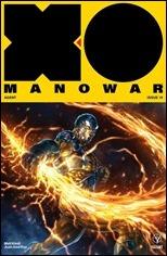 X-O Manowar #19 Cover B - Quah