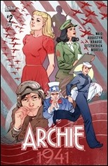 Archie 1941 #2 Cover C - Sauvage