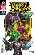 Justice League Odyssey #1 Cover