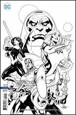Justice League Odyssey #1 Cover - Uncolored Dodson Variant